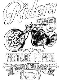 Riders Vintage Power