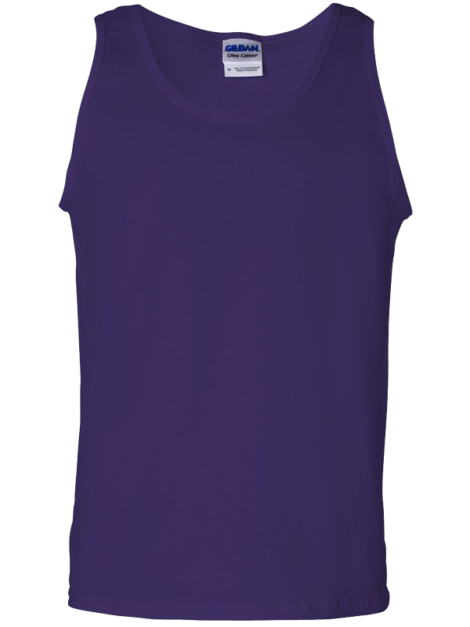 Gildan-2200-Ultra-Cotton-Tank-Top-Cardinal-Purple-Front
