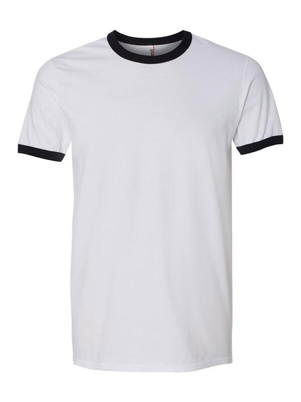 f1a6bd77 Anvil 988 – Lightweight Ringer Tee – uDesign Demo / T-shirt Design ...