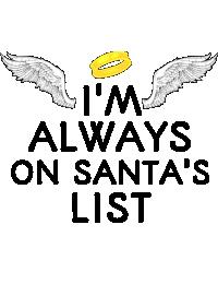 Always on santa's list