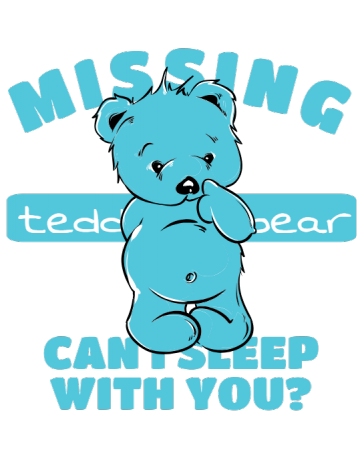 Missing teddy bear