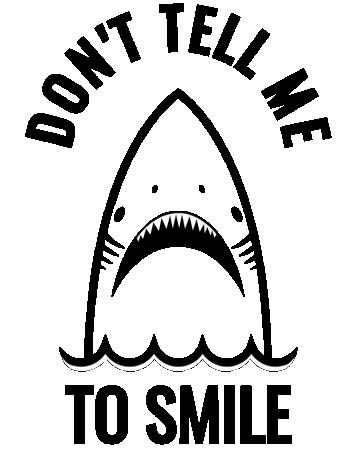 Sad shark