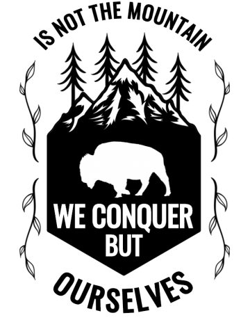 We conquer ourselves