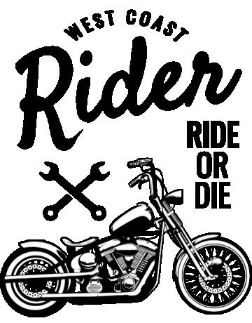 West coast rider