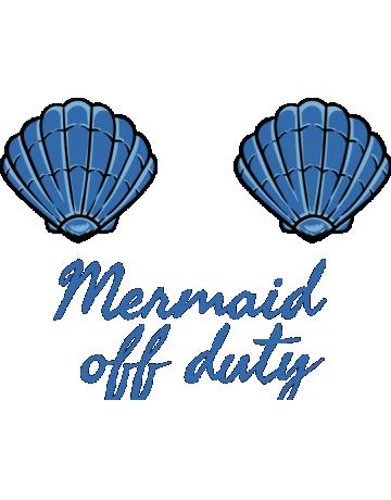 Mermaid off duty