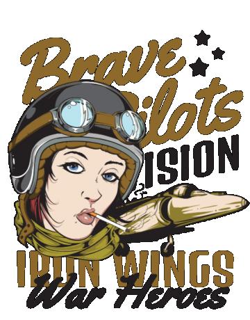 Brave pilots division