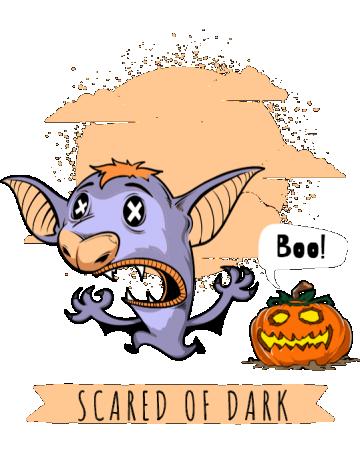 Scared of dark