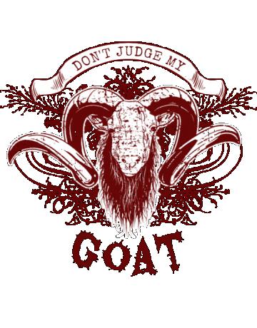 Don't judge my goat