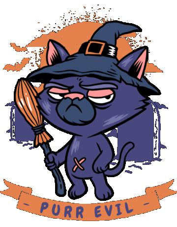 Purr halloween