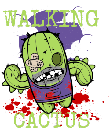 Walking cactus