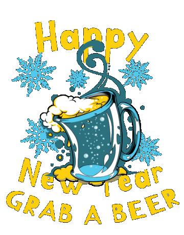 New Year Grab a beer