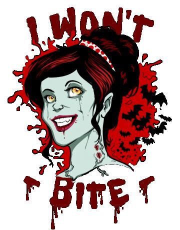 I won't bite
