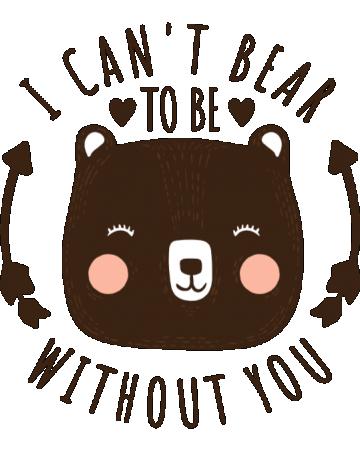 I can't bear