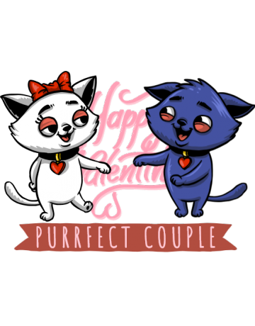 Purrfect couple