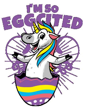 I am so eggcited