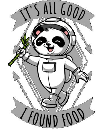 I found food
