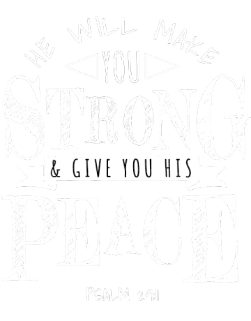 He will make you strong