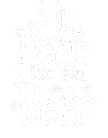 Out of beer
