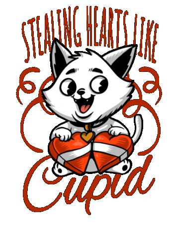 Stealing hearts like Cupid